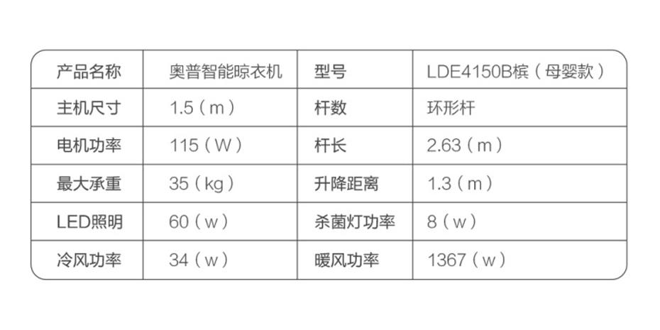 奥普新网站930-465- LDE4150B