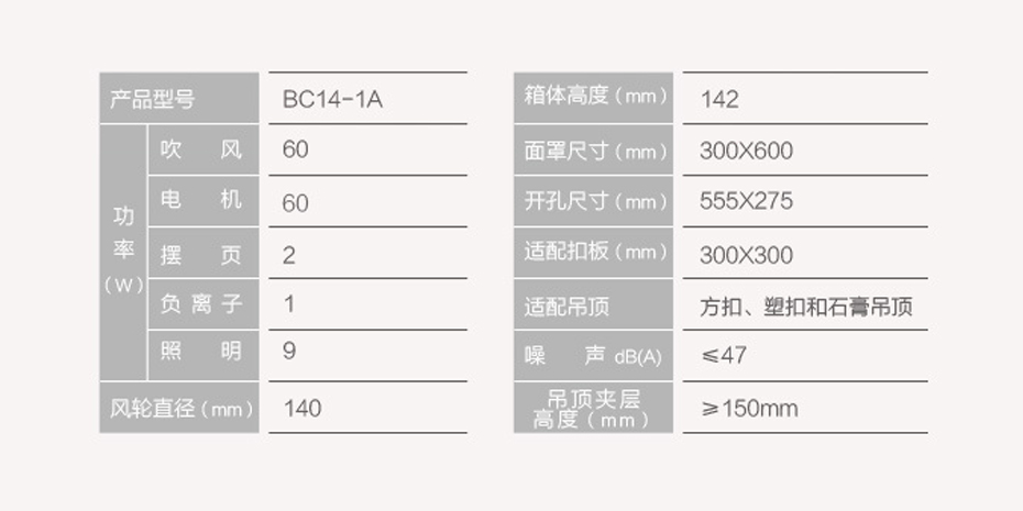 奥普新网站930-465-凉霸BC14-1A