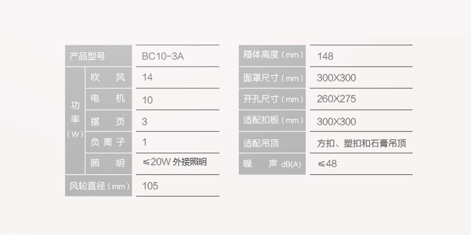 奥普新网站930-465-凉霸BC10-3A