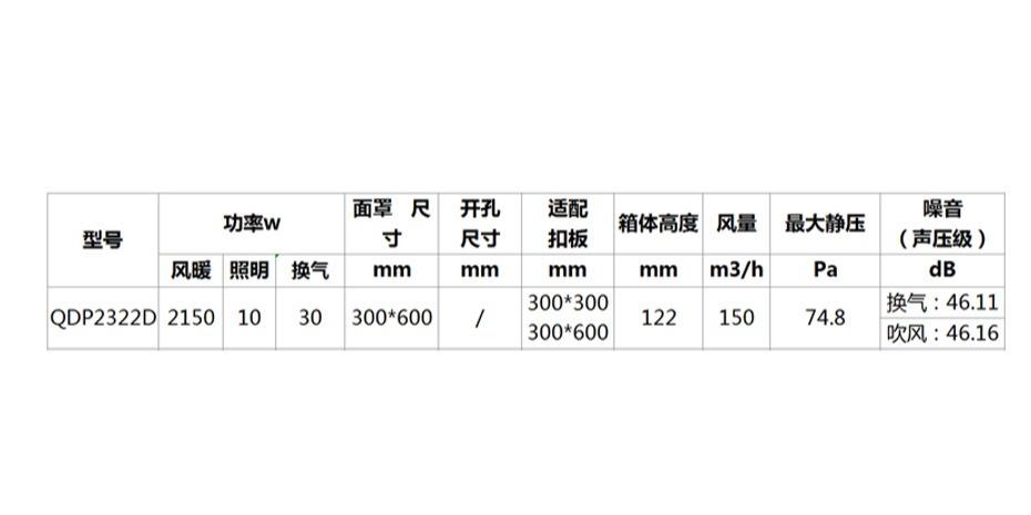 工程机 QDP2322D-参数