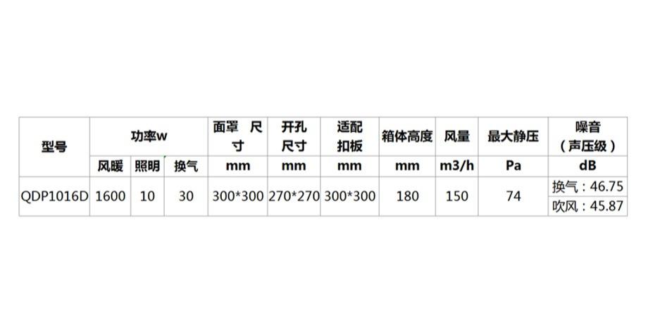 工程机 QDP1016D -参数