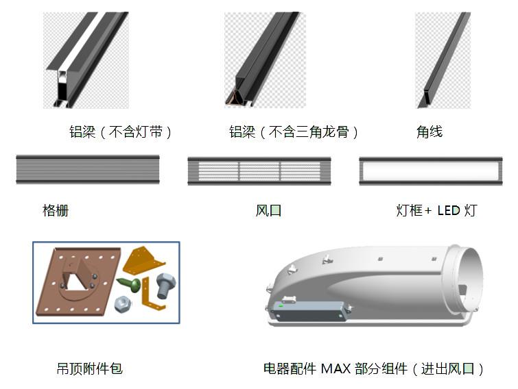 晨皓控股奥普MAX大板集成吊顶高科荣境设计方案6